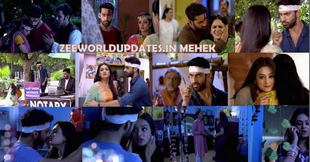"Zee World Mehek 1st August 2019 Thursday Written Update Episode "" Mehek-Shaurya's Fake Fight But Real Romance ""."