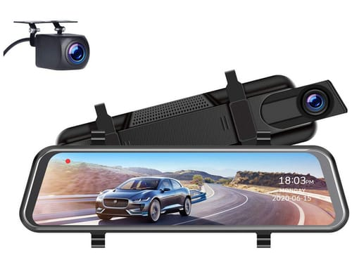 EYETOO CE60 Touch Screen 1080P Mirror Dash Cam for Cars