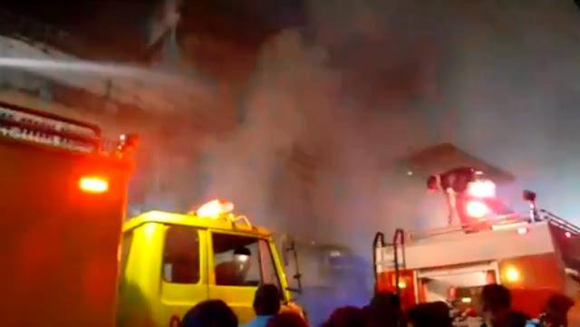 BREAKING NEWS: Sebuah Toko di Jalan Surabaya Pematangsiantar Terbakar