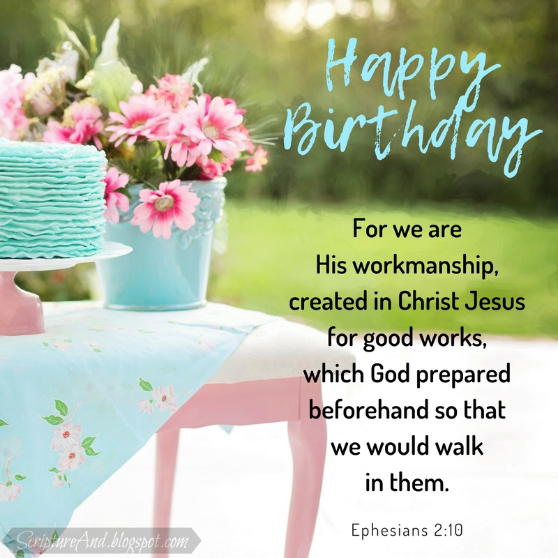 More Free Birthday Images With Bible Verses