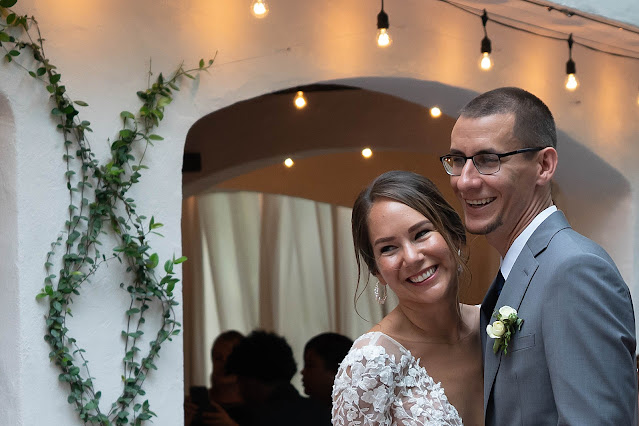 Bride and Groom happy together at Reception The Manor on St Lucie Crescent Wedding captured by Stuart Wedding Photographer Heather Houghton Photography