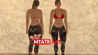 MTA SA GTA 5 Female Skin