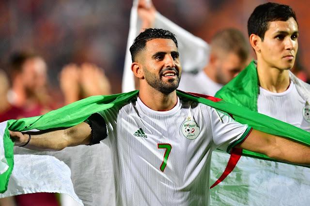 Riyad Mahrez Algeria African Cup Of Nations