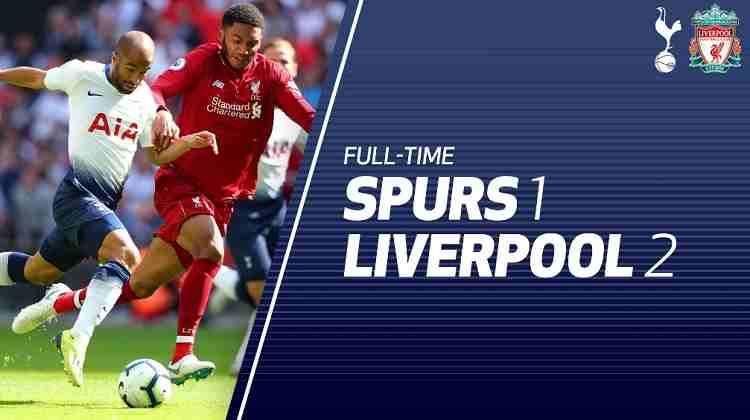 Hasil Tottenham Hotspur vs Liverpool Skor Akhir 1-2 [Premier League 2018]