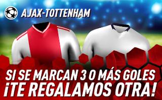 sportium promo champions Ajax vs Tottenham 8 mayo 2019