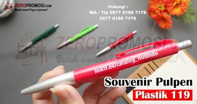 Souvenir Pulpen Promosi Pen 119 Termurah, Pulpen 119 promosi cetak logo, Souvenir Pulpen Plastik 119 Cetak Logo, Pulpen Termurah