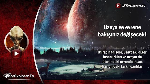 Uzay, Evren, Kainat, Miraç hadisesi, Uzaylılar da insan mı?, Müslüman uzaylılar, Ye'cüc ve Me'cüc, Cablısa ve Cablıka, Uzayda hayat var mı?, Mehmet Fahri Sertkaya,