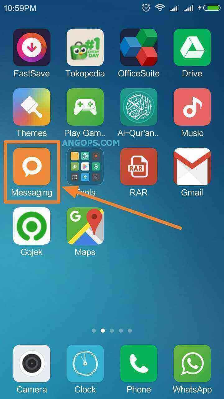 Cara Blokir Sms Penipuan Di Xiomi Redmi Android Angops