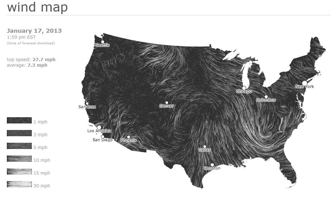 Windy map
