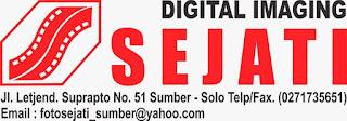 Lowongan Kerja di Solo & Wonogiri - Marketing Online dan Desain Grafis Foto Sejati