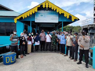 Polsek Singkep Barat bersama Stakeholder Kecamatan Lakukan koordinasi,Ciptakan Kamtibmas Aman dan Kondusif