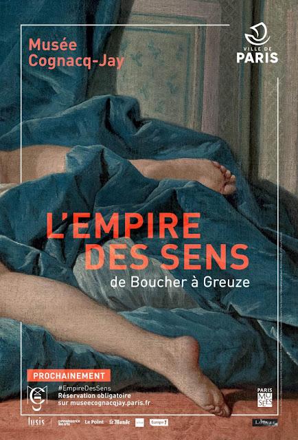 """Exposition """"de  Boucher à Greuze"""" au musée Cognacq-Jay"""