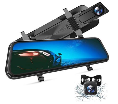 VANTΟP H610 10 2.5K Mirror Dash Cam for Cars