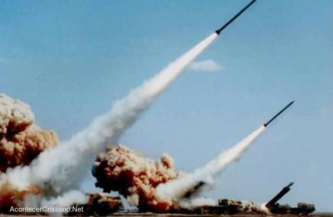 Misiles de irán apunta a Israel