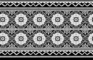 Vector-damask-art-saree-border-textile-design
