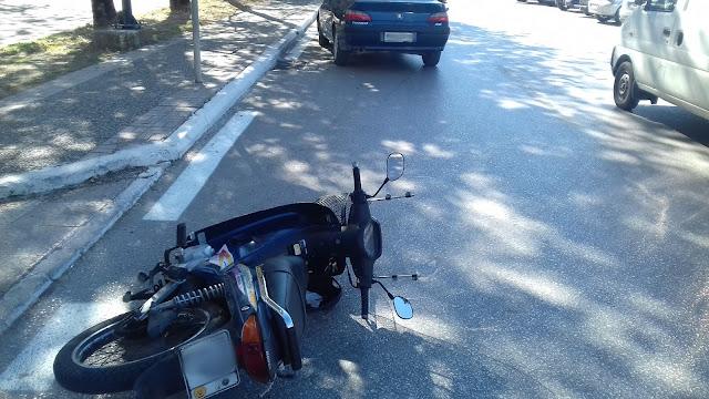 Τροχαίο ατύχημα το μεσημέρι στην Ηγουμενίτσα (+ΦΩΤΟ)
