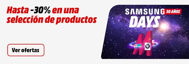 Top 15 ofertas Samsung Days de Media Markt
