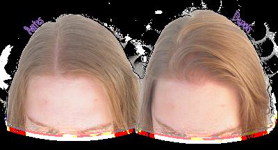 Antes e Depois - Resultado Shampoo Ghee Hidratação - Lola Be(M)dita Ghee