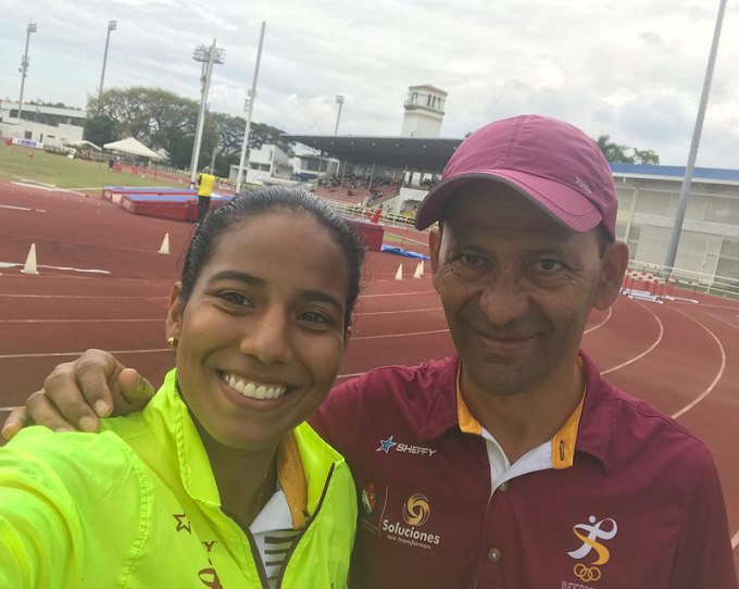 Bronce 'Pijao' en el Grand Prix de Atletismo Internacional con la ibaguereña Giseth Montaño