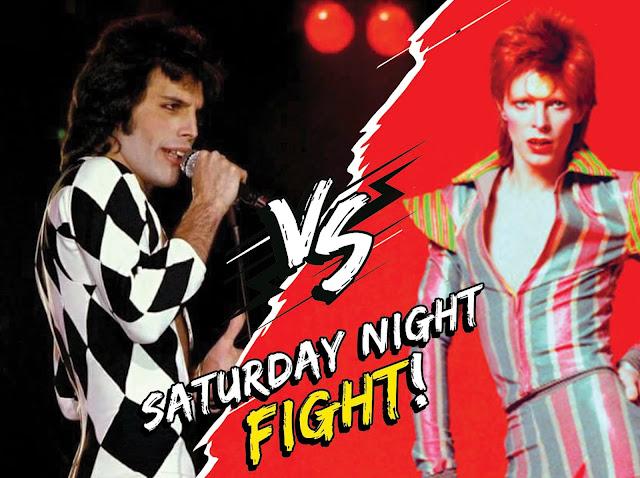 Mercury vs Bowie