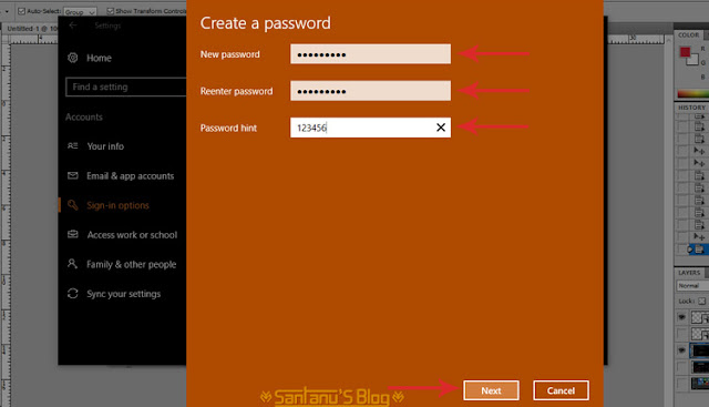 Cara Memberi Password Di PC Laptop Pada Windows 10