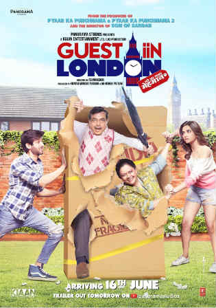 Guest Iin London 2017 DVDRip 850MB Full Hindi Movie Download 720p Watch Online Free bolly4u