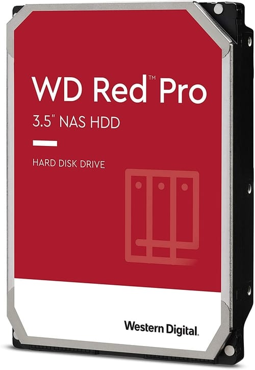 Western Digital 18TB WD Red Pro NAS Internal Hard Drive