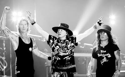 Guns N' Roses Tokyo 28 January 2017