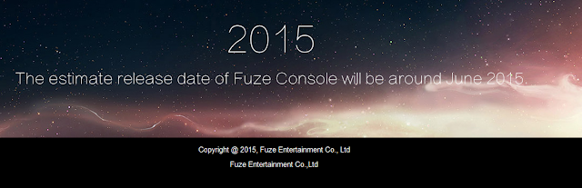 Fuze Console Entertainment Co. China videogame video game June release date