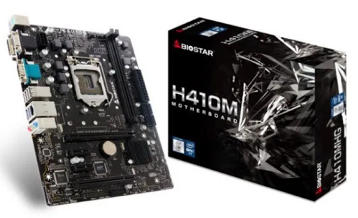 Latest H410 motherboards from BIOSTAR
