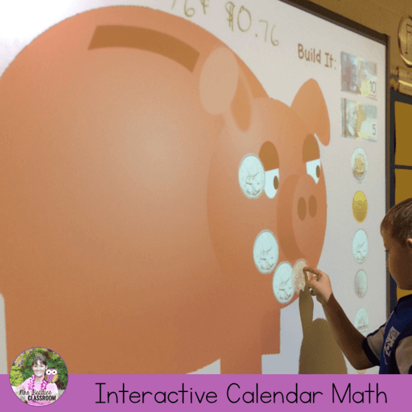 Interactive SMART Board Calendar Math