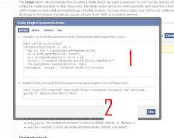 Cara membuat coment facebook di blog