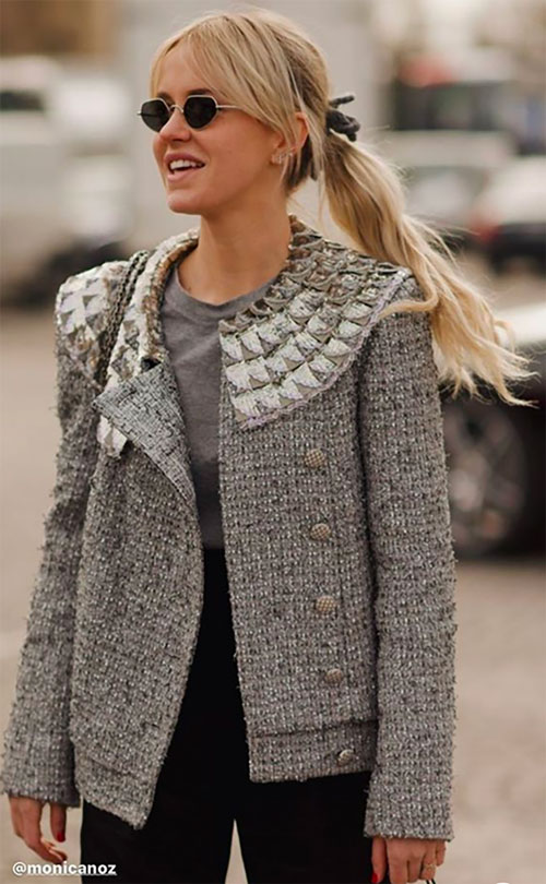 cropped blazers trend