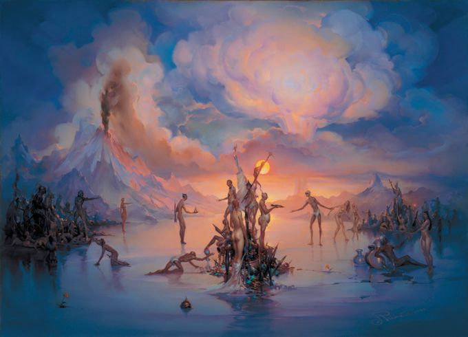 John Pitre 1942 | American Surrealist painter