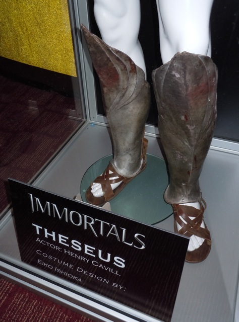 Theseus armoured boots Immortals