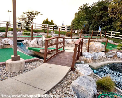The Meadows Miniature Golf in Harrisburg Pennsylvania
