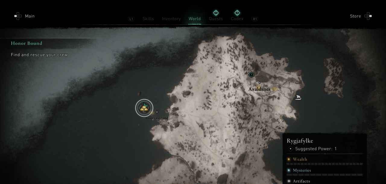 Rygjafylke, Norway  Ingot 1 Map 2