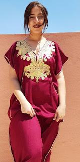 قفطان مغربي الوان جميلة