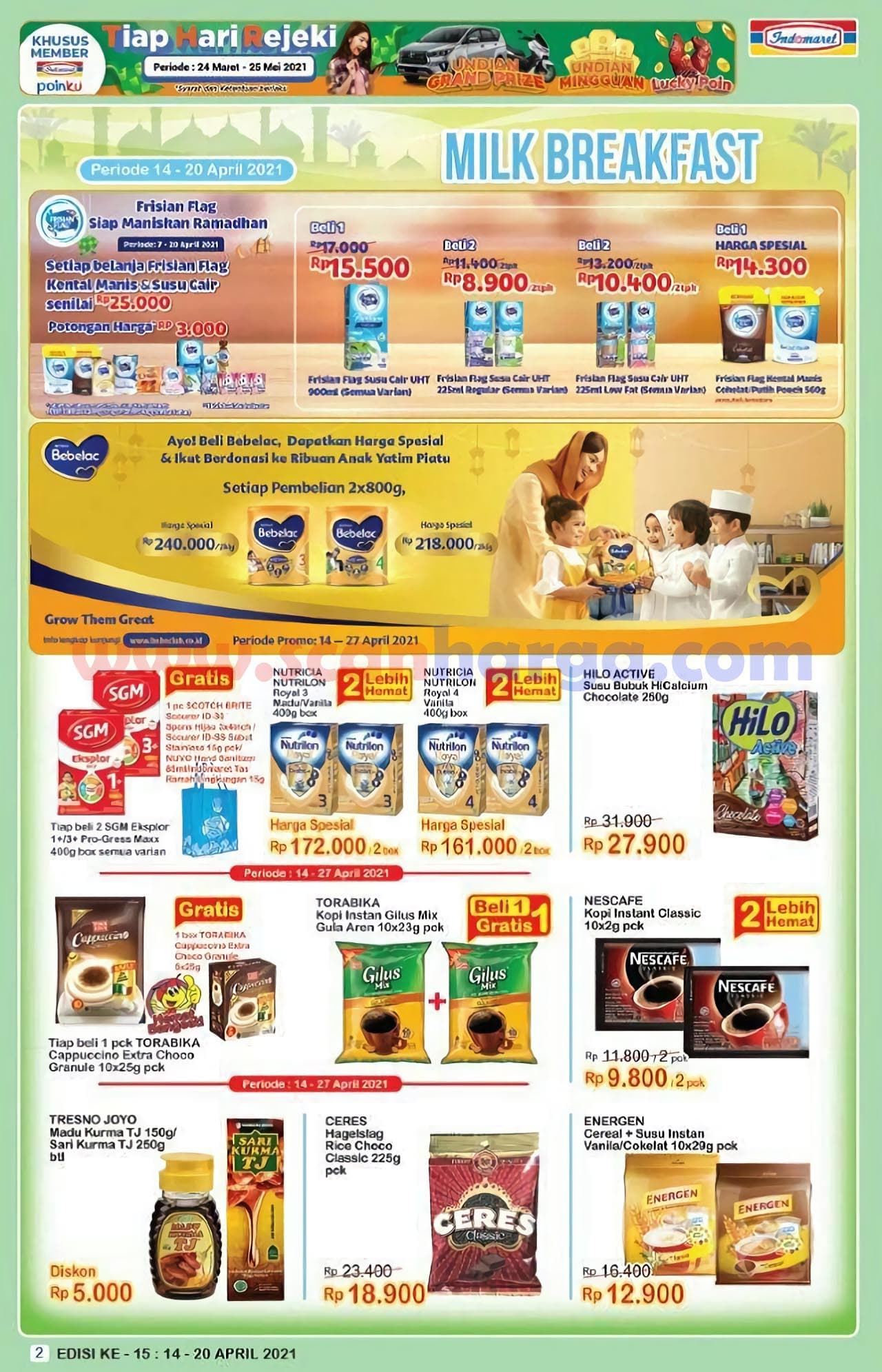 Katalog Indomaret Promo Terbaru 14 - 20 April 2021 2