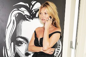 Kate Moss told about a secret account in Instagram