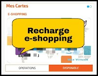 Comment recharger carte e-shopping de la banque CIH BANK via application Cih mobile