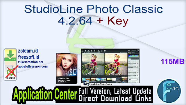 StudioLine Photo Classic 4.2.64 + Key_ ZcTeam.id
