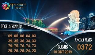 Prediksi Togel Angka Singapura Kamis 10 Oktober 2019