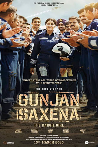 GUNJAN SAXENA: The Kargil Girl full movie