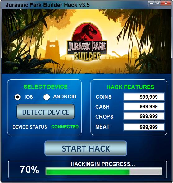 Jurassic park builder hack cheat crack t l chargement gratuit coins pi ces gratuit triche jeux - Telecharger jurassic park 4 ...
