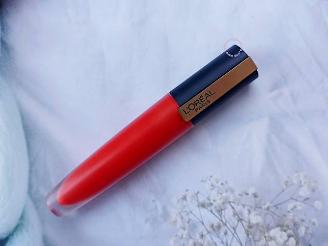 L'Oreal Paris Rouge Signature Matte Color Ink Review 113
