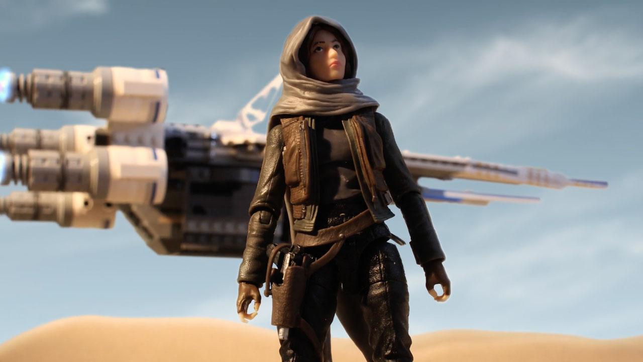 """Brinquedos de """"Rogue One: Uma História Star Wars"""" são revelados com curtas animados"""