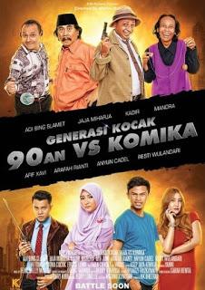 Generasi Kocak 90-an Vs Komika ( 2017 )