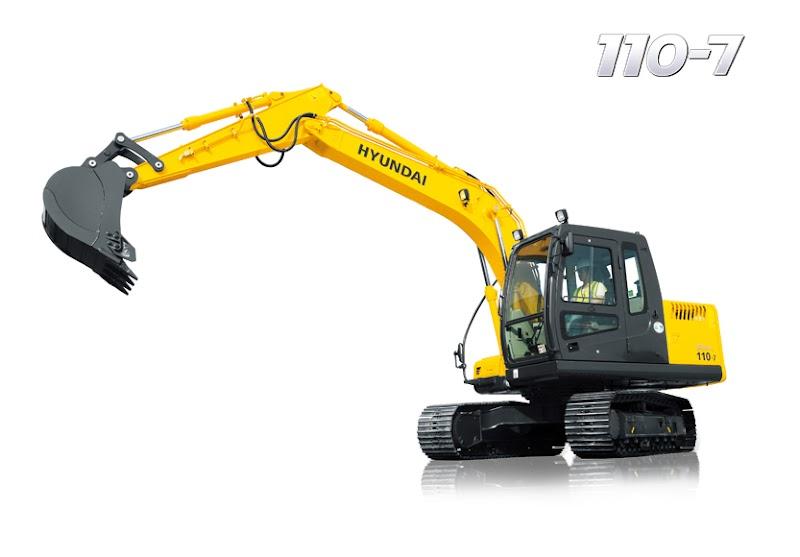 Hyundai Excavators R110-7