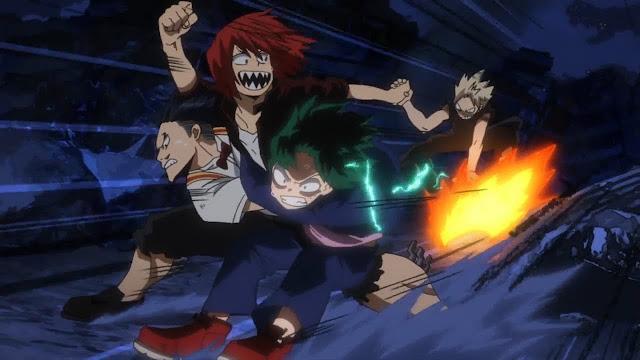Midoriya and Friends Save Bakugou